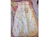 Baby sleeping bag/ grow bag 0-6 months 2.5 tog NEWv