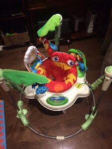 Baby Bouncer (Fisher Price Rainforest theme)