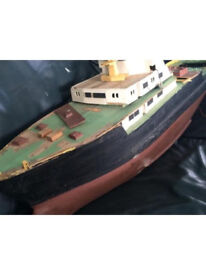 NOW GONE free to a good home model ship/ tanker