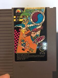 Jeu Wood and Water rage Nes