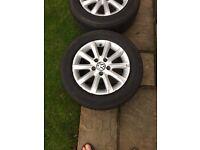 Vw golf mk 5 alloy wheels
