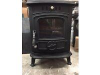 Wood burning stove 6w multi fuel burner