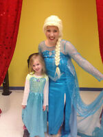 Hire a princess for your child's next party