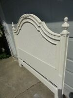 New - Beautiful Victorian Lace Double Headboard   +free delivery