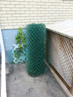 40 + link chain fence green no rust