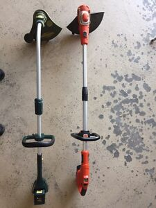 Cordless electric grass trimmers