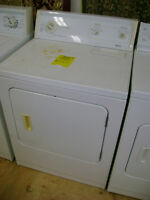 Kenmore dryer with 90 day warranty. $129.