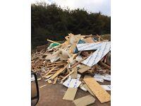 Bonfire wood delivered for FREE