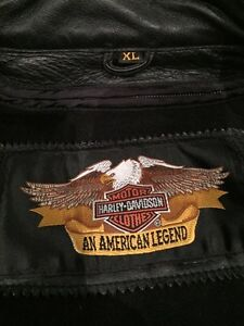 Harley Davidson Leather Jacket Mens XL West Island Greater Montréal image 5