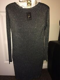 New tagged primark sparkly jumper dress uk8