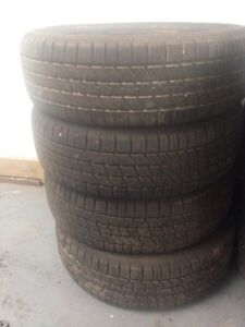 Full Set Of Used Tires.