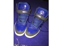 Blue adidas shoes uk Size 6