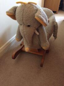 Rocking Elephant Like New
