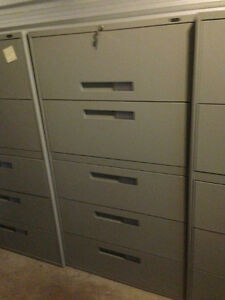 5 Drawer Lateral Filing Cabinets for SALe