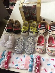Baby girl shoes lot (brand new condition)
