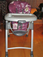 chaise haute graco de disney
