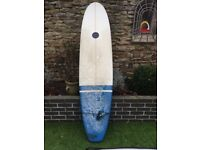"7'6"" Maluku surfboard and all the gear"