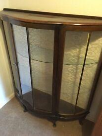 Antique glass unit
