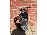 Under 14s half golf set with bag