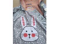 John Lewis raincoat (girl) Bunny design