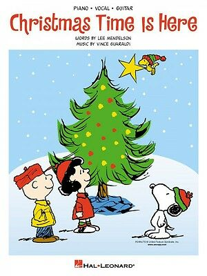Christmas Time Is Here Sheet Music Piano Vocal NEW Vince Guaraldi 000352297