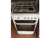 Indesit gas cooker, immaculate condition, 50cm wide, can deliver if needed, thanks