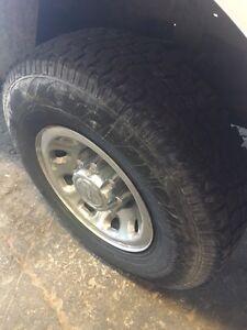 """16"""" winter rims & tires 235/85R16 Oakville / Halton Region Toronto (GTA) image 2"""