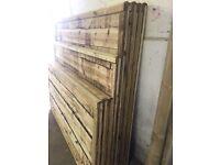 🔨🌟Superb Quality Waneylap Tanalised Fence Panels