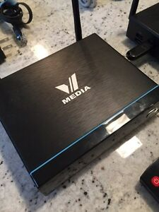 VMedia TV Package 2 x VBox + V Cable Modem + Asus WIFI Router London Ontario image 9