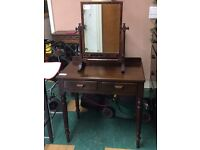 Antique Vintage hall stand dressing table