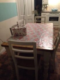 Laura Ashley 6 seater dining table