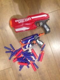 Nerf guns and bullets
