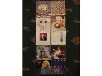 Random mixed vinyl singles x10