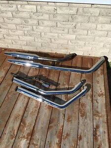 Harley Exhaust and Seat