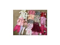 Baby girls 0-3 m clothes bundle