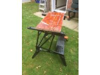 Black And decker workmate 2 , work bench. Can deliver.