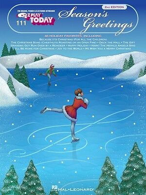 Season's Greetings Sheet Music E-Z Play Today Book NEW 000100119