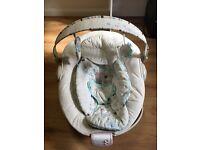 Bright starts baby bouncer seat vibration