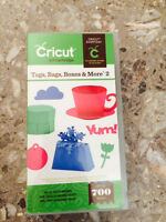 Cricut Cartridge - Bags, Tags, Boxes & More 2