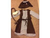 Age 3-4 shepherd inn keeper villager costume nativity £5 Plympton