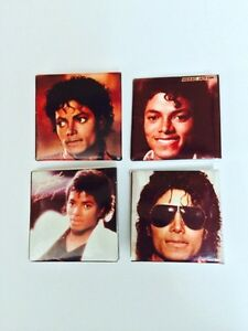 VINTAGE 1983/84 MICHAEL JACKSON MINI BUTTONS X4 London Ontario image 1