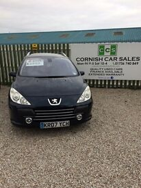 Peugeot 307 sw se hdi 110 6 months warranty extended warranty available