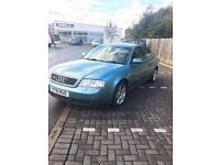 1999 (V) Audi A6 Quattro - LONG MOT Sept 2017 - WOULD SWAP