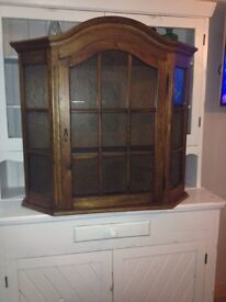 Glass Front Wall Unit - Can Deliver