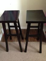 BAR STOOLS -$20  FOR BOTH-