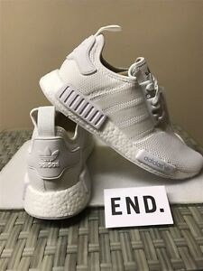 Adidas TRIPLE WHITE NMDs size 10