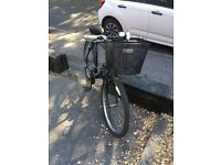 Raleigh bike with basket