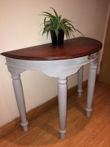Ono paris grey vintage dressing table side table in for 90cm dressing table