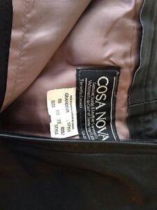 CASA Nova leather skirt size 6 fits like a 4