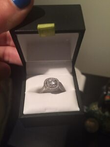 Spence diamond engagement ring and band (paid $10,000)
